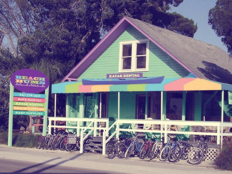 Phenomenal Bicycle Rentals Kayak Rentals Golf Cart Rental Beach Bums Interior Design Ideas Lukepblogthenellocom