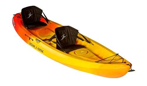 Tandem Kayak Rentals | 4 Hours $55 | Day $70 | 3 Days $120 | Week $210 | 2 Weeks $395